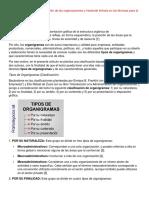 Formas graficas de representación de las organizaciones y haciendo énfasis en las técnicas para la elaboración de organigramas.docx