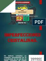 IMPERFECIONES CRISTALINAS