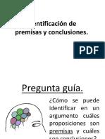 Identificación de premisas y conclusiones