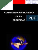 Administracion Moderna de La Seguridad