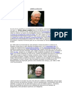 La Bibliografia de JAMES LOVELOCK