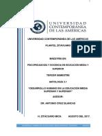 Antología 3.1 Desarrollo Humano de La Educ Media