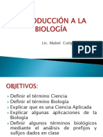 BIOLOGIA INTRODUCCION