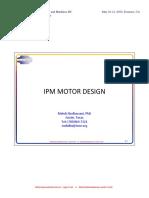 6 IPM Motor Design
