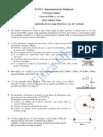 Repartido I - Propiedades de La Carga Eléctrica y Ley de Coulomb