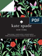 Kate Spade Pop Up Shop