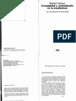 Complejidad y Contradiccion en La Arquitectura_robert Venturi