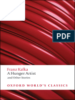 Franz Kafka a Hunger Artist and Other Stories Oxford Worlds Classics