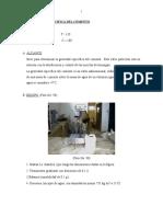 2.5. Gravedad Especifica Del Cemento