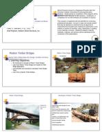 Modern Timber Bridges