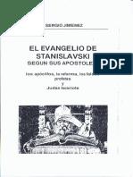 El Evangelio de Stanislavski - Sergio Jimenez