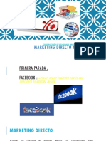 Marketing Directo y Online