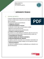 Componentes Del Expediente Técnico (Diseño)