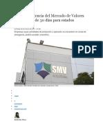Superintendencia Del Mercado de Valores _2c Reporte de Diario