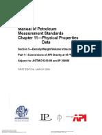 API MPMS 11.5.1_2009 Conversions of API Gravity at 60 °F.pdf