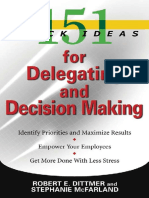 151 Quick Ideas for Delegating and Decision Making.pdf