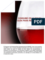 Manual Consumo de Alcohol Guia Para Reducir Los Riesgos