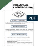 Handout Pengantar Kimia Anorganik