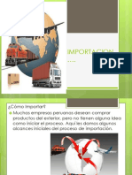 Diapositivas de Importacion