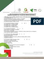 Examen Diagnóstico TI II