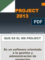 Iniciando Ms Project