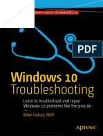 Windows 10 Troubleshooting (2016)