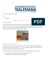 Importancia de la Geologia en la Ing. Civil