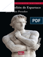 Juan Luis Posadas - La rebelión de Espartaco