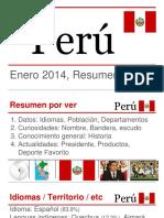 Peru explicacion y resumen