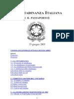 La Cittadinanza Italiana e Il to