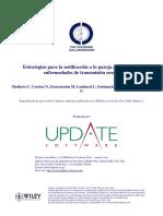 CD002843_estrategias Para La Notificación a La Pareja Acerca de Las ETS