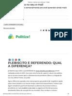 Plebiscito e Referendo_ Qual a Diferença_ - Politize!