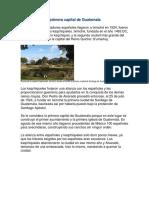 Fundación de la primera capital de Guatemala.docx