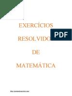 23756841-Exercicios-Resolvidos-Matematica