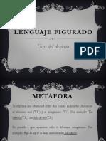 Lenguaje Figurado - Ecos Del Desierto