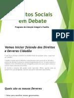 Direitos Sociais Em Debate