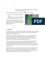 Historia Ubicacion y Funcion de La Refineria de Tala