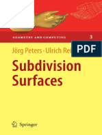 Subdivision Surfaces JPeters