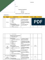 Clasa 3 - Planificare Booklet