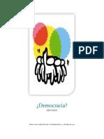 Ensayo Democracia