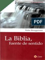 Walter brueggemann - la biblia fuente de sentido.pdf