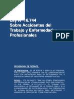 Presentacion Instituto Lib. Ley 16.744