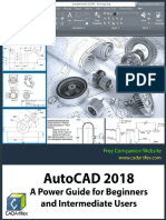 Autocad 2018 a Power Guide for Beginners