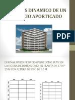 Analisis Dinamico de Un Edificio Aporticado