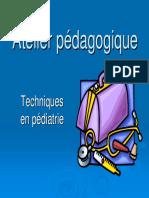 Atelier Technique Urgence Pédiatrique