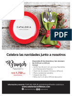 Flyer Brunch Navideño