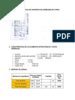 Análisis y Cálculo Del Diseño en Albañilería Final