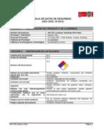 WK-755- MSDS, Lavalozas Industrial Alto Poder- OK 2016