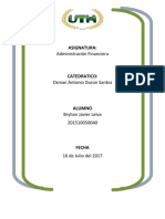 Tarea Final Administracion Financiera