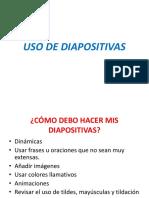 USO DE DIAPOSITIVAS.pptx